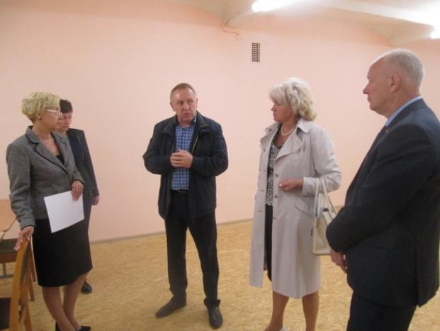 Посещение центра допризывной подготовки в ходе ремонта в г.Новолукомле