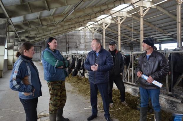 Встреча с работниками животноводческого комплекса