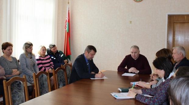 Прием граждан на ЦКК в Чашниках