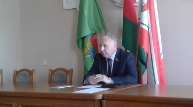 Прием граждан в Чашницком РИК